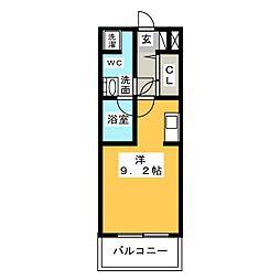 グラン・アベニュー西大須[8階]の間取り