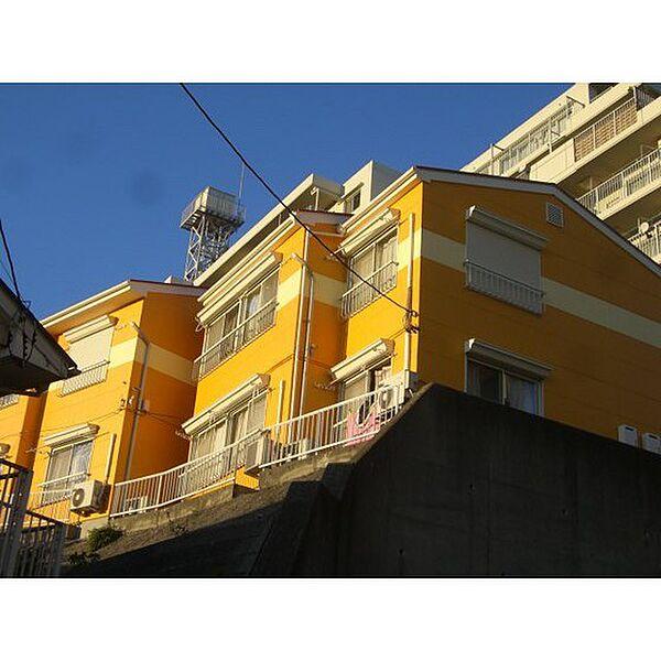 プレステージ下倉田II[102号室]の外観