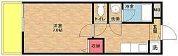 ラフィーネ住之江[1階]の間取り