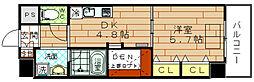 ARROW FIELDS 弐番館(アローフィールズ弐番館)[10階]の間取り