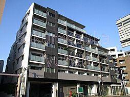 東京都目黒区中央町1丁目の賃貸マンションの外観