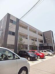 愛知県名古屋市名東区猪高町大字高針字荒田の賃貸マンションの外観