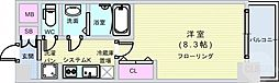 Osaka Metro長堀鶴見緑地線 松屋町駅 徒歩6分の賃貸マンション 11階1Kの間取り
