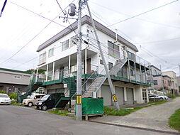 北海道小樽市長橋3丁目の賃貸アパートの外観