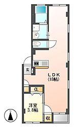 仮)グランレーヴ東別院EAST[2階]の間取り