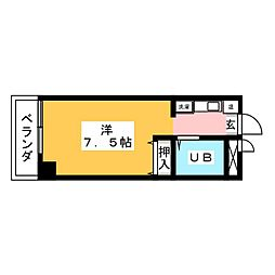 BELLE TOPIA稲沢4[2階]の間取り