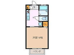 セゾン・プロムナード[1階]の間取り