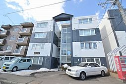 北海道札幌市豊平区平岸三条10丁目の賃貸マンションの外観