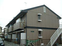 東京都練馬区谷原の賃貸アパートの外観