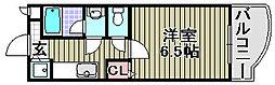 ロンシャン[207号室]の間取り