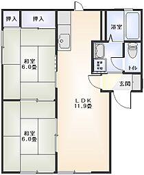 コンフォール鴨宮II[101号室]の外観
