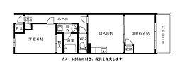 富士見町多川ビル--[1102号室]の間取り