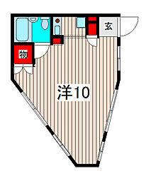 LAPUTA1[3階]の間取り