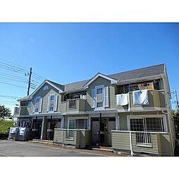東京都江戸川区東松本2丁目の賃貸アパートの外観