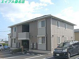 三重県桑名市大字大仲新田の賃貸アパートの外観