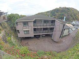 兵庫県宝塚市紅葉ガ丘の賃貸マンションの外観