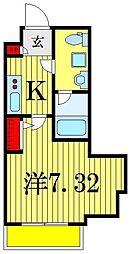 RELIA東京イーストレジデンス[3階]の間取り