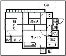 [一戸建] 東京都羽村市羽西1丁目 の賃貸【東京都 / 羽村市】の間取り