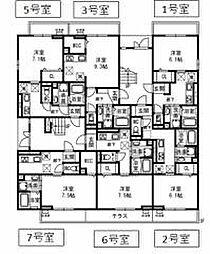 北花田駅 6.4万円
