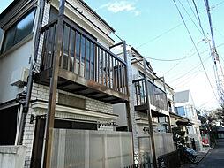 東京都中野区中央4丁目の賃貸アパートの外観