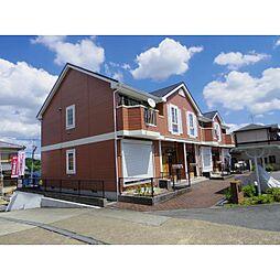 奈良県大和郡山市矢田町の賃貸アパートの外観