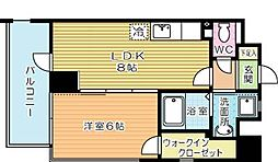 Felt127(フェルト127)[7階]の間取り