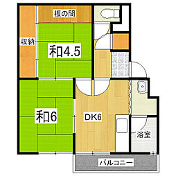 KIYOUSOU[3階]の間取り