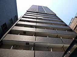 プレサンスタワー北浜[8階]の外観