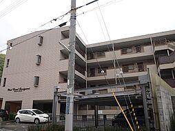 兵庫県神戸市北区谷上西町の賃貸マンションの外観