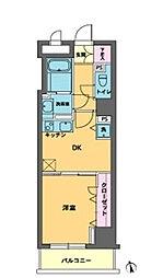 東京都中央区入船3丁目の賃貸マンションの間取り