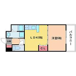 ペットマンション富士[3階]の間取り