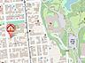 地図,ワンルーム,面積24.7m2,賃料2.8万円,札幌市電2系統 行啓通駅 徒歩3分,札幌市電2系統 中島公園通駅 徒歩5分,北海道札幌市中央区南十三条西7丁目1番26号