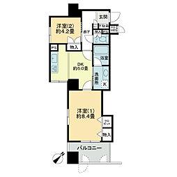 ライオンズマンション大和第5[2階]の間取り