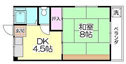 宮崎コーポ[304号室]の間取り