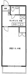 アカデミーグローリア初穂町田[10階]の間取り