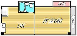 フォーシム目黒III[2階]の間取り