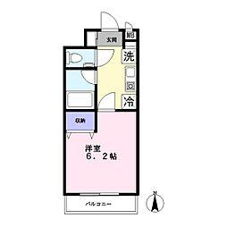 ANNEX大岡山[1階]の間取り