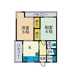 新興ビル[3階]の間取り