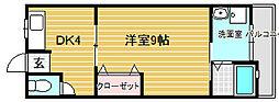 レジデンス高木[1階]の間取り