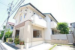 愛知県名古屋市天白区元八事4丁目の賃貸アパートの外観