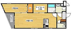 仮)プレステージ久留米津福試験場前[2階]の間取り