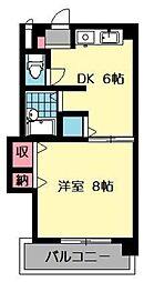 フローラ5[5階]の間取り