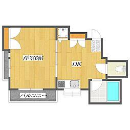 Second Onsei Mansion 〜第2オンセイマン[3階]の間取り