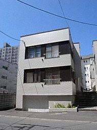 平岸第1マンションA・B棟[2階]の外観