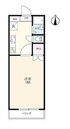 マルシュ江島[106号室]の間取り