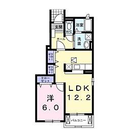 グレイスIII−U[1階]の間取り