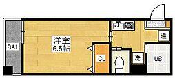 ALDEPLAZA[4階]の間取り