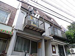 東京都中野区中野5丁目の賃貸アパートの外観