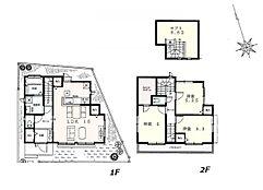 建物参考プラン:間取り/3LDK、延床面積/86.52?、土地建物参考価格/7380万円(税込)\n