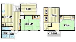 [一戸建] 兵庫県姫路市野里月丘町 の賃貸【/】の間取り